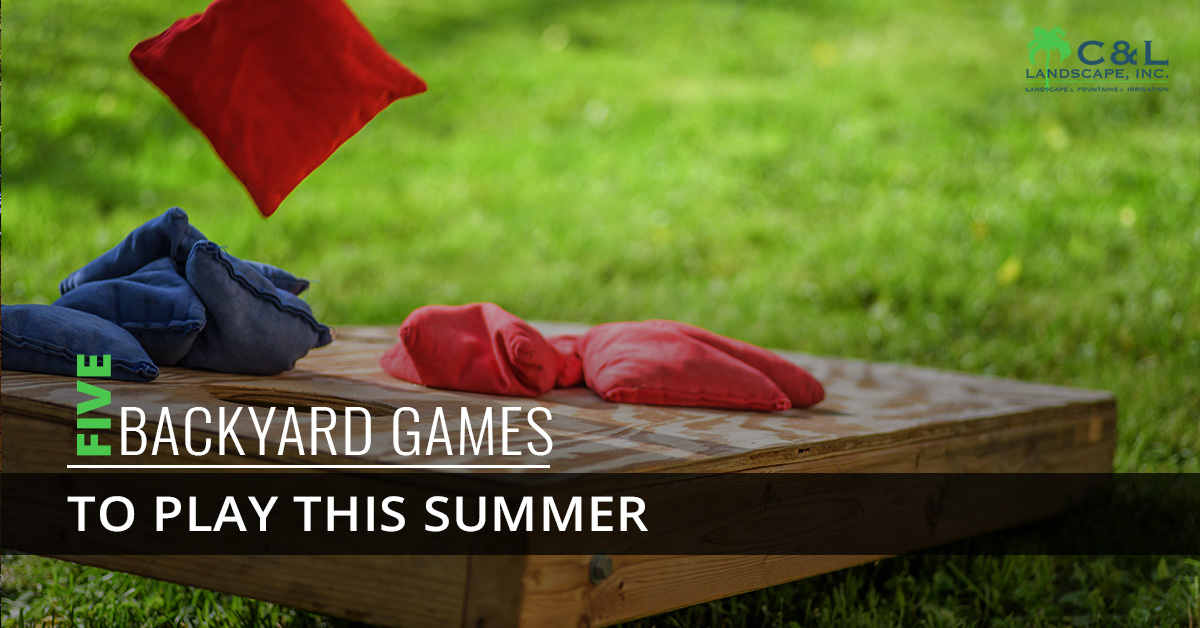 5 Backyard Games to play this summer