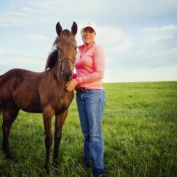 Horse training classes & trail rides at Clover Hill Farms