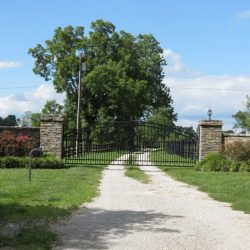 Clover Hill Farm Entrance in Paris, KY