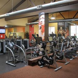 interior of Club Metro gym