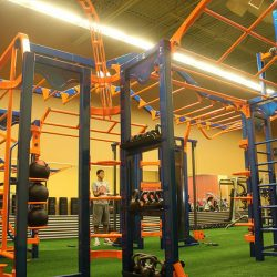 Club Metro USA jungle gym workout equipment