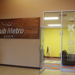 Club Metro USA Kids Club entrance