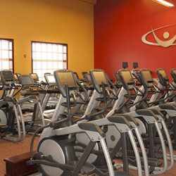 Club Metro USA elliptical machines