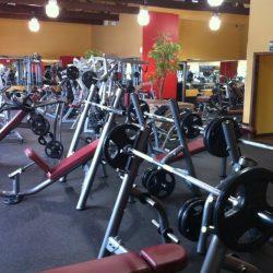 Club Metro USA weight lifting equipment