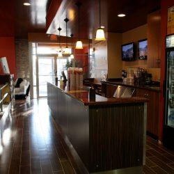 Club Metro USA cafe bar with TVs