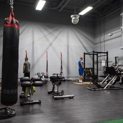 Club Metro USA workout equipment and boxing equipment