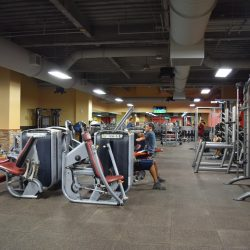 Club Metro USA workout machines
