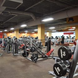 Club Metro USA workout equipment