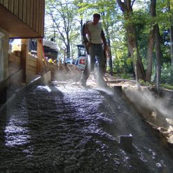 CMI Structures utilizing shotcrete