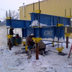 At CMI Structural Solutions we don't let the weather stop our testing
