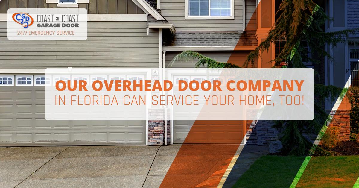 Overhead Door Company Florida We Service Residential Homes Too