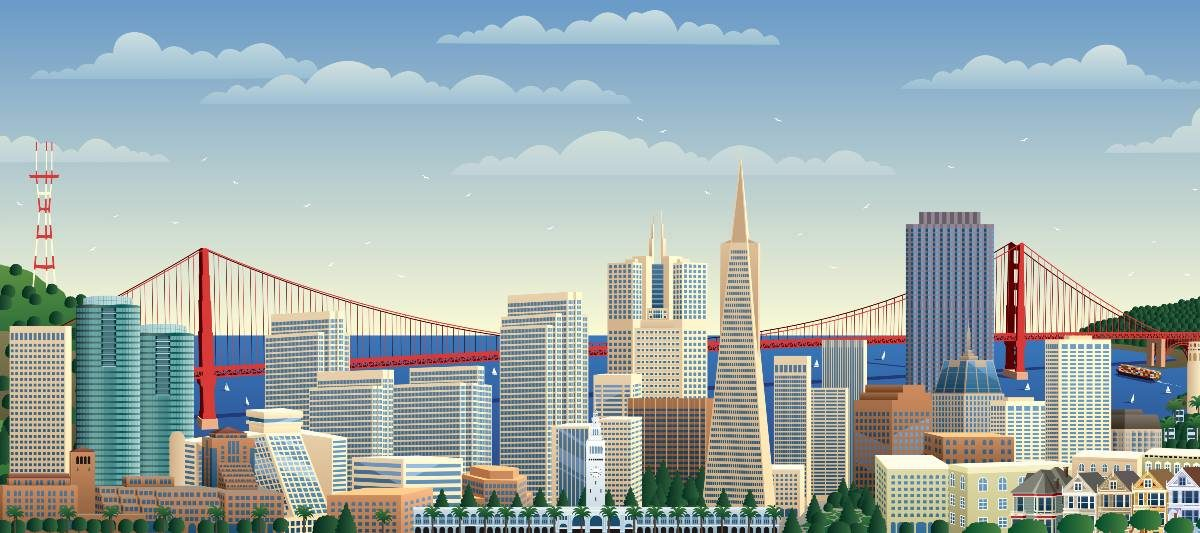 An image of the San Francisco skyline.