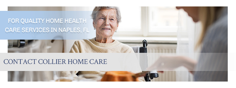 Call to action with a smiling senior woman, illustrating the benefits of home health care services.