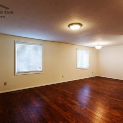 hardwood flooring installed into older unwanted home