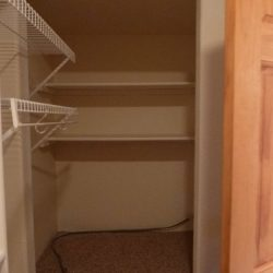 Spacious closet in an unwanted property that an all cahs home buying company flipped