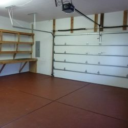 Large garage within a property in Fort Collins that sold for an all cash offer to a NoCo home buyer
