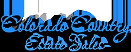Colorado Country Estate Sales