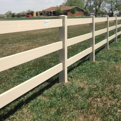 Installing a new fence