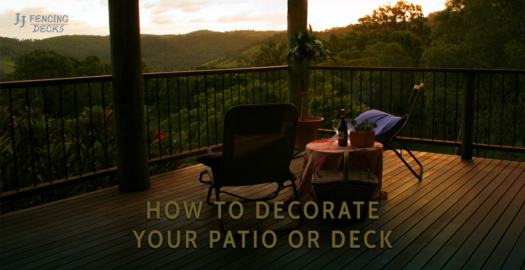 Patio And Deck Decorating Ideas