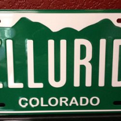 "Photo of a license plate that reads ""Telluride"" - Colorado Pest Management"