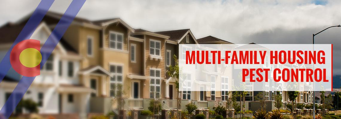 Multi-family housing pest management in Denver