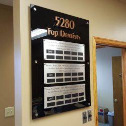 Indoor business signs Colorado