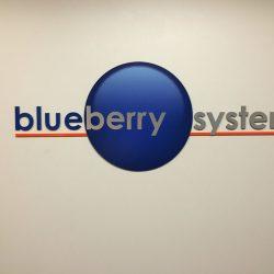 Sign design Denver Blueberry Systems