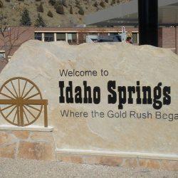 Customized Pylon Sign Idaho Springs