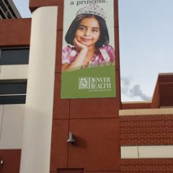 Outdoor vinyl banner customized Denver