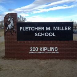 Custom School Sign Colorado Denver