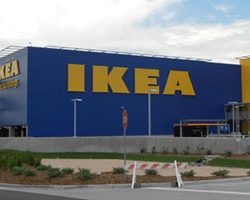 Outdoor sign makers IKEA