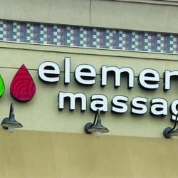 Illuminated Signs Customized Colorado Massage
