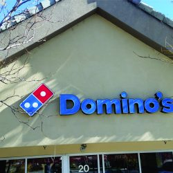 Domino's Business Signs Colorado