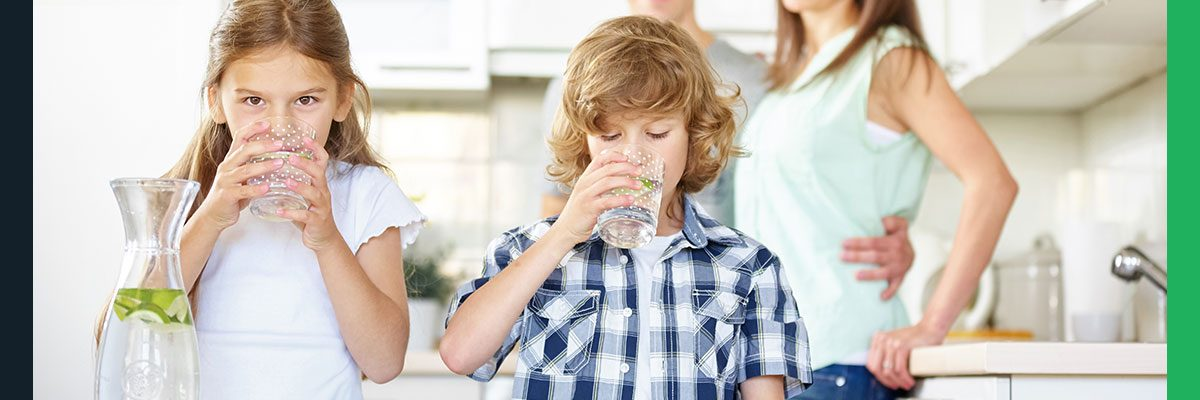 Give your family safe drinking water with plumbing services from Comfort Solutions