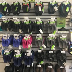Wall of orthopedic sandals - Comfort Mobility
