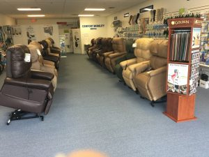 we are excited to help you bring the added comfort and mobility of a golden tech power lift chair into your home