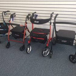 Wheeled walking aids - Comfort Mobility