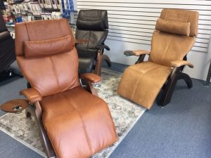 Selection of zero-gravity chairs - Comfort Mobility