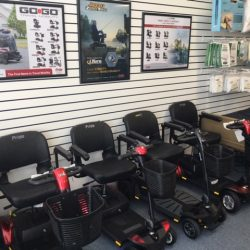 Power scooters and medical supplies - Comfort Mobility