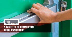 """""""5 Benefits of commercial door panic bars"""""""