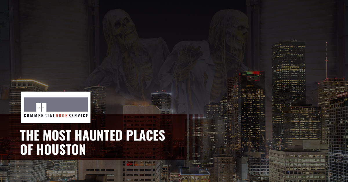 """""""The most haunted places in Houston"""""""