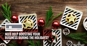 """""""Need help boosting your business during the holidays?"""""""