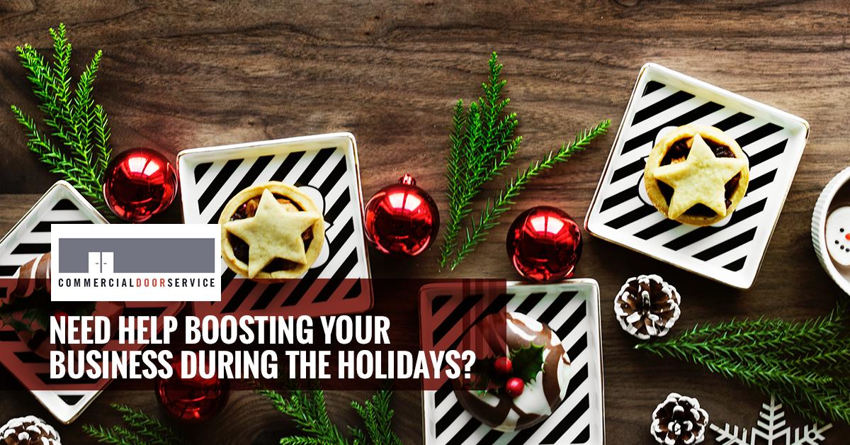 Christmas Business Decorations.Commercial Door Repair Houston 4 Ways Christmas Decorations