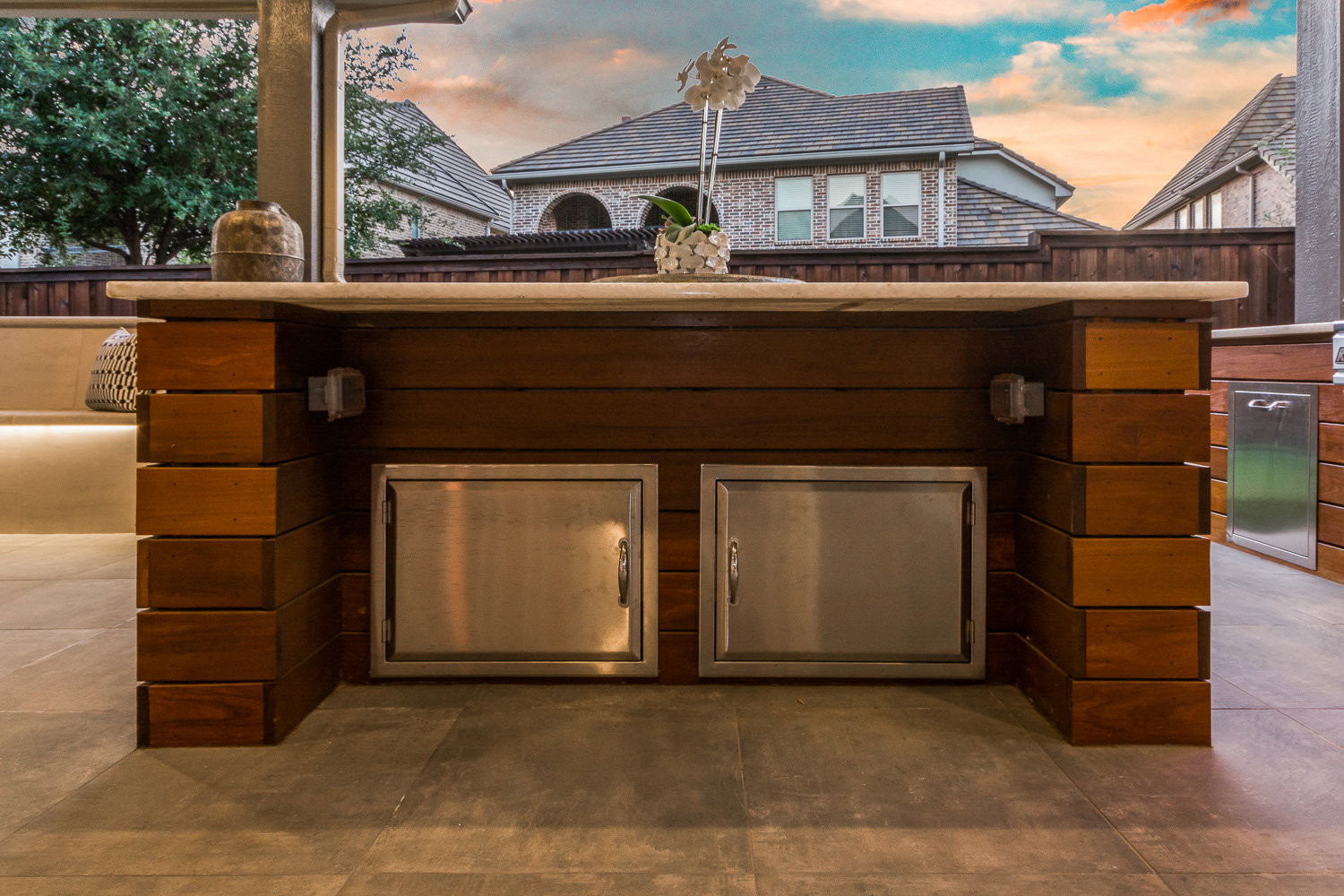 Outdoor Kitchen Stainless Cabinets
