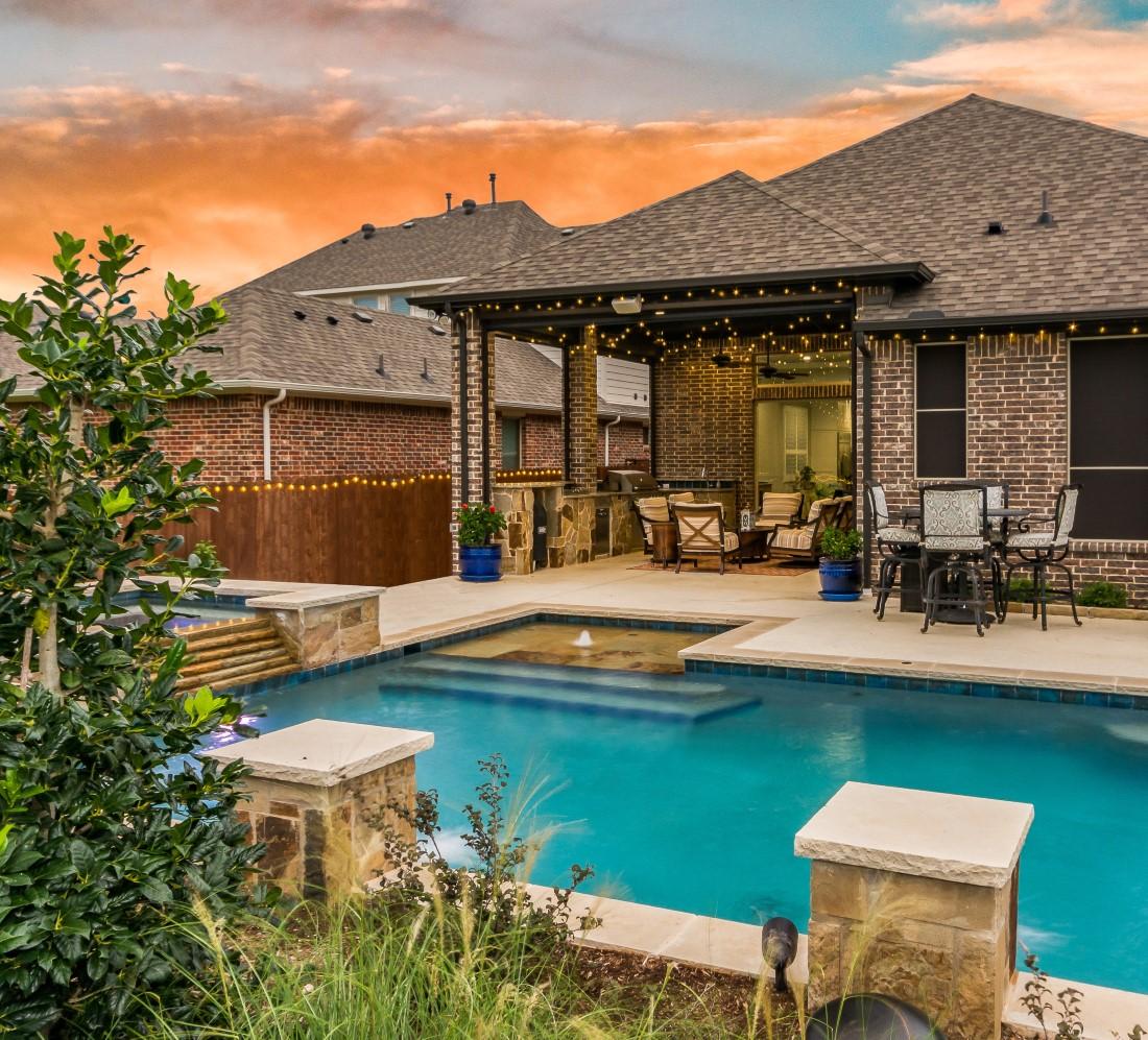 patio design by compass outdoor design in dallas