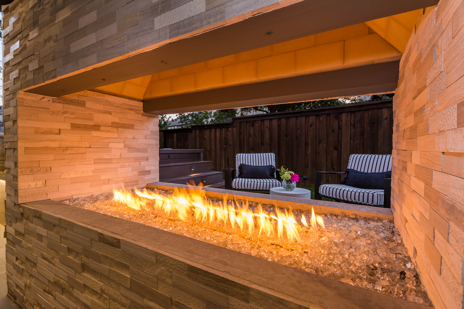 outdoor fireplaces by compass outdoor design in dallas