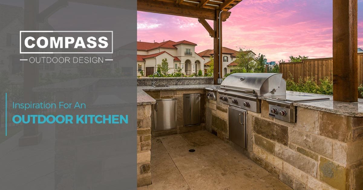 Outdoor Kitchen Dallas: Inspiration For A Outdoor Kitchen