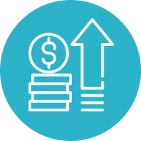 Increase Value Icon