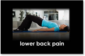 Lower back pain - therapy, doctor, pain management