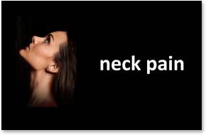 Orthopedics, Therapy - Neck Pain